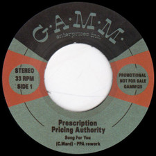 "Prescription Pricing Authority - Song For You - 7"" Vinyl"