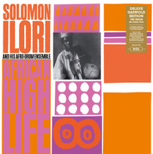 Solomon Ilori & His Afro-Drum Ensemble - African High Life - LP Vinyl