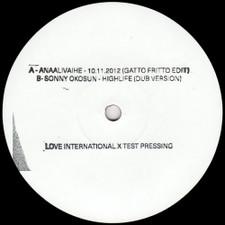 "Gatto Fritto - The Sound Of Love International #001 Sampler - 12"" Vinyl"