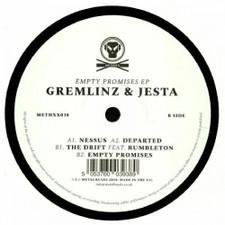 """Gremlinz & Jesta - Empty Promises Ep - 12"""" Vinyl"""