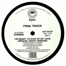 "Final Touch - I'm Ready To Give Up My Love - 12"" Vinyl"