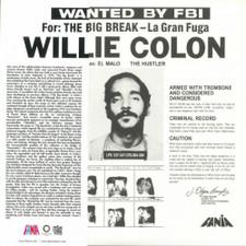 Willie Colon - Wanted By FBI / The Big Break - LP Vinyl