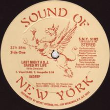 "Indeep - Last Night a DJ Saved My - 12"" Vinyl"