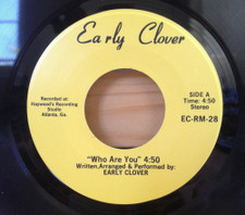 "Early Clover - Who Are You - 7"" Vinyl"