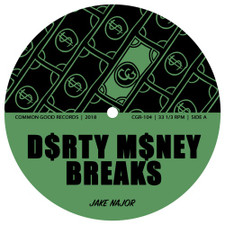 "Jake Najor - Dirty Money Breaks - 7"" Vinyl"