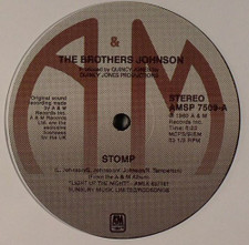 "The Brothers Johnson - Stomp! / Let's Swing - 12"" Vinyl"