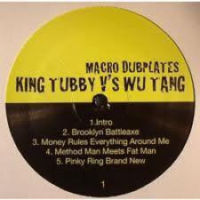 King Tubby vs. Wu-Tang Clan - Macro Dubs - LP Vinyl