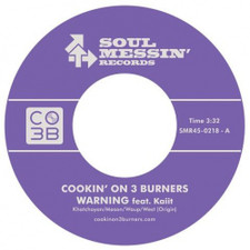 "Cookin' On 3 Burners - Warning / The Jump Off - 7"" Vinyl"
