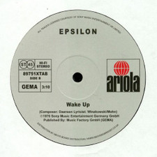 "Epsilon - Leave The City / Wake Up - 12"" Vinyl"