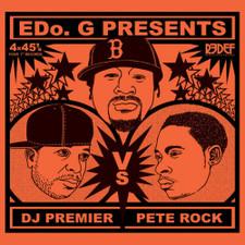 """Edo. G - DJ Premier Vs Pete Rock - 4x 7"""" Box Set"""