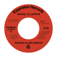 "Rance Allen Group - Reason To Survive / Peace Of Mind - 7"" Vinyl"
