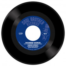 "Sandra Wright - Wounded Woman / Midnight Affair - 7"" Vinyl"