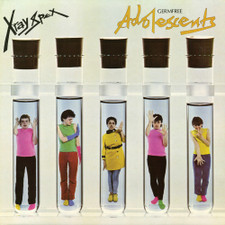X-Ray Spex - Germfree Adolescents - LP Clear Vinyl