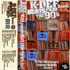 K-Def - Beats From The 90's Vol. 1 - Cassette