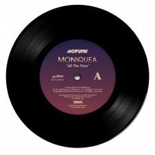 "Moniquea - All The Time - 7"" Vinyl"