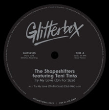 "The Shapeshifters - Try My Love (On For Size) - 12"" Vinyl"