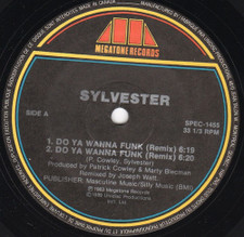 "Sylvester - Do You Wanna Funk (Remix) - 12"" Vinyl"