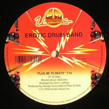 "Erotic Drum Band - Plug Me To Death - 12"" Vinyl"