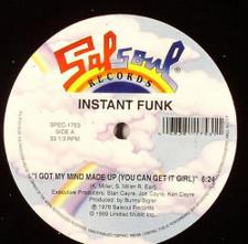 "Instant Funk - I Got My Mind Made Up - 12"" Vinyl"