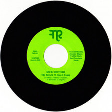"""The Great Revivers - The Return Of The Green Snake - 7"""" Vinyl"""
