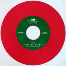 """Harris & His Christmas Avengers - Get Down Auld Lang Syne - 7"""" Colored Vinyl"""