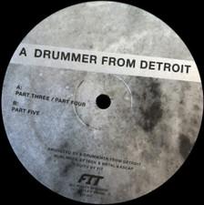 "A Drummer From Detroit - Drums #2 - 12"" Vinyl"