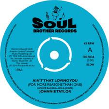 "Johnnie Taylor - Ain't That Loving You - 7"" Vinyl"