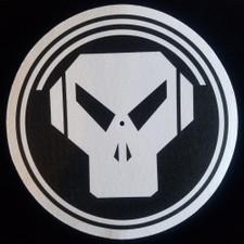 Metalheadz - White On Black Logo - Single Slipmat