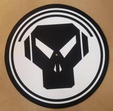 Metalheadz - Black on White Logo - Single Slipmat