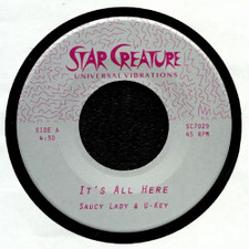 "Saucy Lady - It's All Here - 7"" Vinyl"