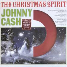 Johnny Cash - The Christmas Spirit (Die Cut Jacket) - LP Colored Vinyl