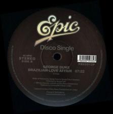 """George Duke - I Want You For Myself / Brazilian Love Affair - 12"""" Vinyl"""