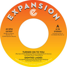 "Eighties Ladies - Turned On To You - 7"" Vinyl"