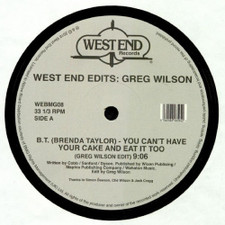 Various Artists - West End Edits: Greg Wilson - 2x LP Vinyl