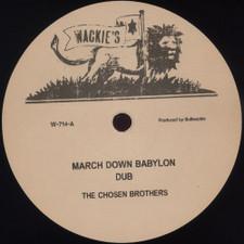 "The Chosen Brothers - March Down Babylon - 12"" Vinyl"