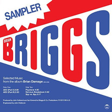 "Brian Briggs - Special Sampler (Selected Music From The Album Brain Damage) - 12"" Vinyl"
