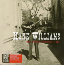 """Hank Williams - The First Recordings, 1938 RSD - 7"""" Colored Vinyl"""