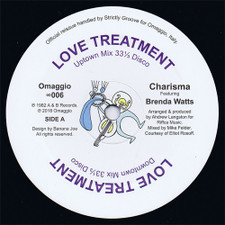 "Charisma / Brenda Watts - Love Treatment - 12"" Vinyl"