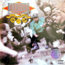 Diamond D & The Psychotic Neurotics - Stunts, Blunts & Hip Hop - 2x LP Colored Vinyl