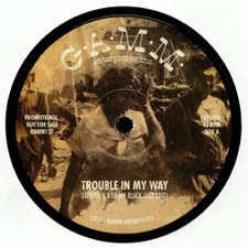 "Afshin & Kiss My Black Jazz - Trouble In My Way / The Riot - 12"" Vinyl"
