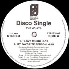 "The O'Jays - I Love Music - 12"" Vinyl"