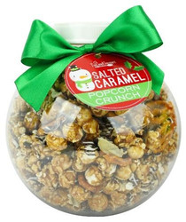 Holiday Popcorn Ornament, 20 oz sweet and salty popcorn cookie crunch