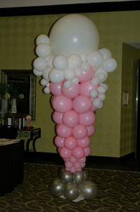 50's decor Balloons