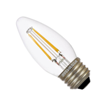 Osram Sylvania B10 4.5W Medium Screw LED Filament Lamp (Blunt Tip)