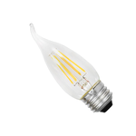 Osram Sylvania B10 4.5W Medium Screw LED Filament Lamp (Bent Tip)