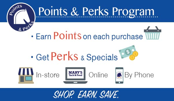Earn Points at Mary's - Sign up for Points & Perks!
