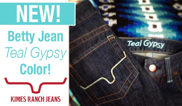 Get the NEW Betty Jean Teal Gypsy Color! Hurry, limited edition.