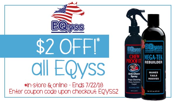 $2 Off any EQyss Product!