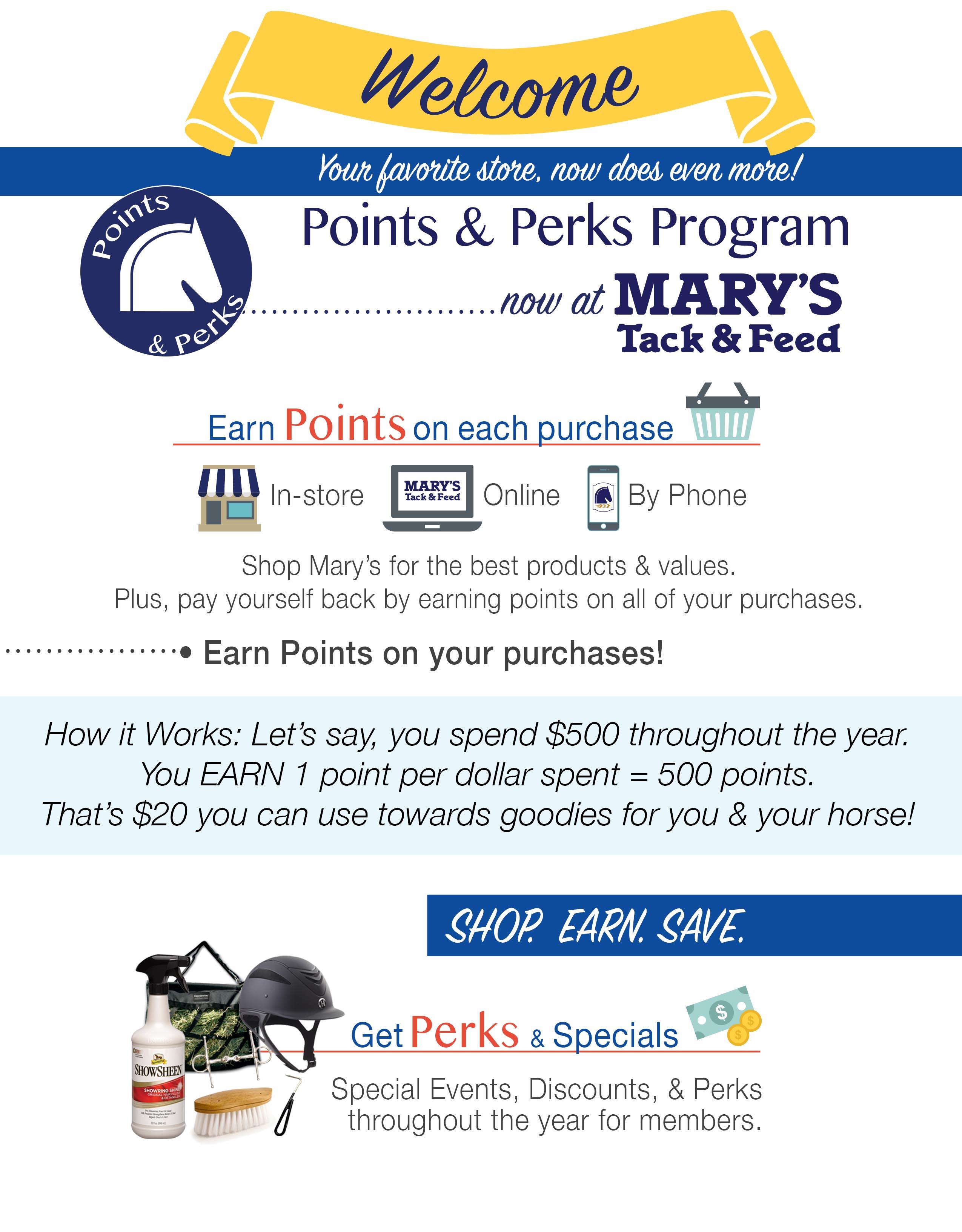 Points & Points Program
