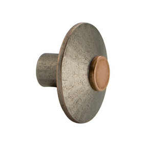 Copper Pewter Knob